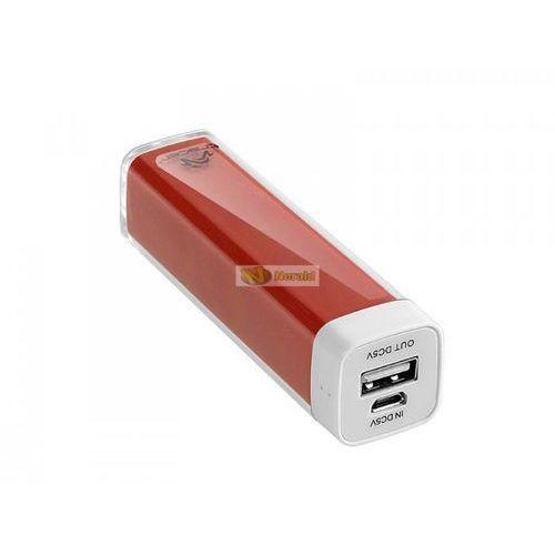 Power bank 2600 mAh czerwony (5907512851982)