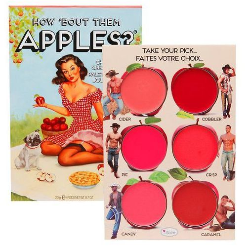 how 'bout them apples? | paleta kremowych róży i szminek - 20g marki Thebalm