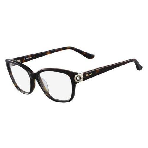 Okulary korekcyjne sf 2734 214 marki Salvatore ferragamo
