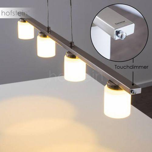 Monza lampa wisząca LED Stal nierdzewna, 4-punktowe - Nowoczesny/Design - Obszar wewnętrzny - Monza - Czas dostawy: od 3-6 dni roboczych (4260303163895)