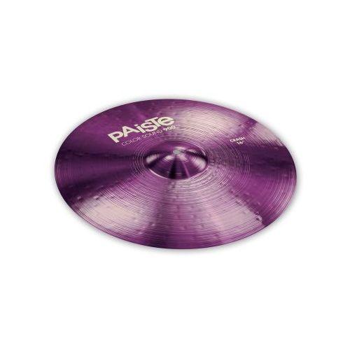 crash seria 900 color sound purple 19″ marki Paiste