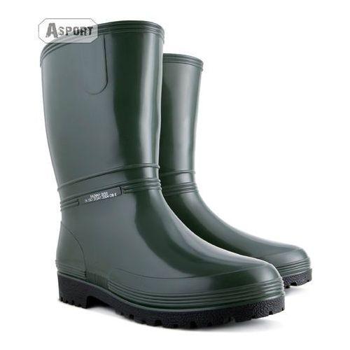Buty gumowe, kalosze damskie RAINNY zielone , Demar z Asport.pl -  Sklep Sportowy