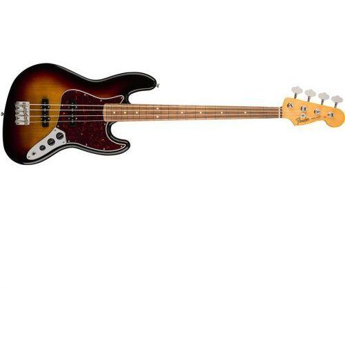 ′60s jazz bass lacquer pau ferro fingerboard 3-color sunburst gitara basowa marki Fender