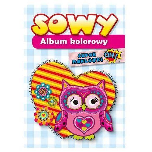 Album kolorowy - Sowy Praca zbiorowa (2019)