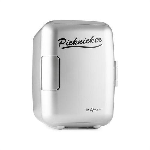 Oneconcept  picknicker mini lodówka termiczna chłodzenie 4 litry ac dc auto