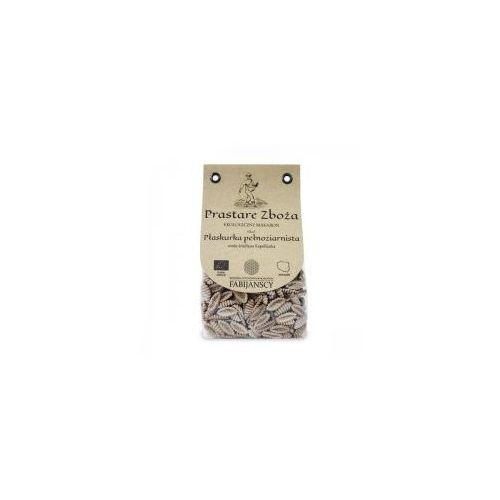 Makaron z płaskurki pełnoziarnisty muszla gnocchi sardi BIO 250g