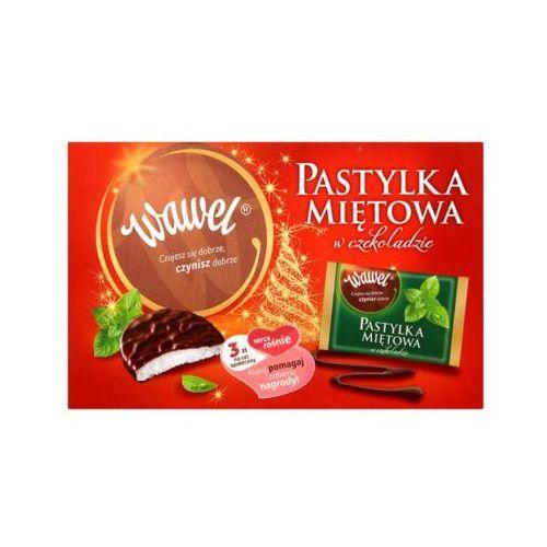 210g pastylki miętowe w czekoladzie marki Wawel