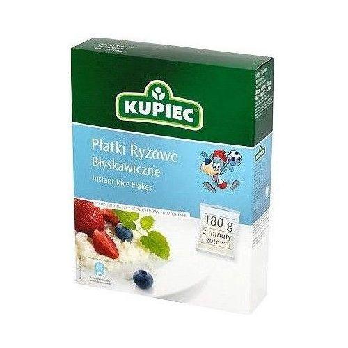 Płatki ryżowe błyskawiczne 180 g Kupiec (5902172000350)