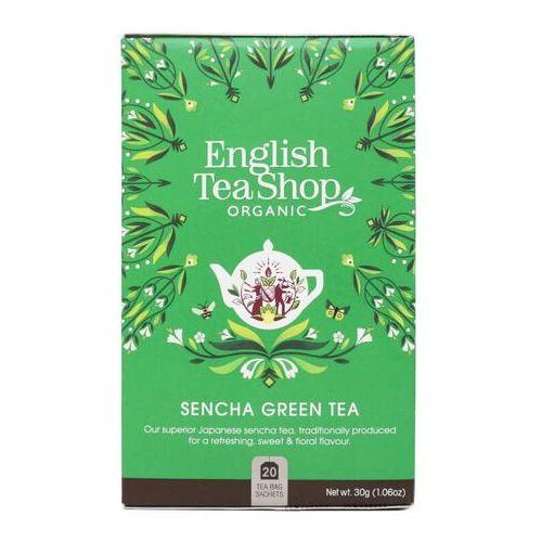 Herbata zielona sencha 20x1,5g bio 30 g p marki English tea sho