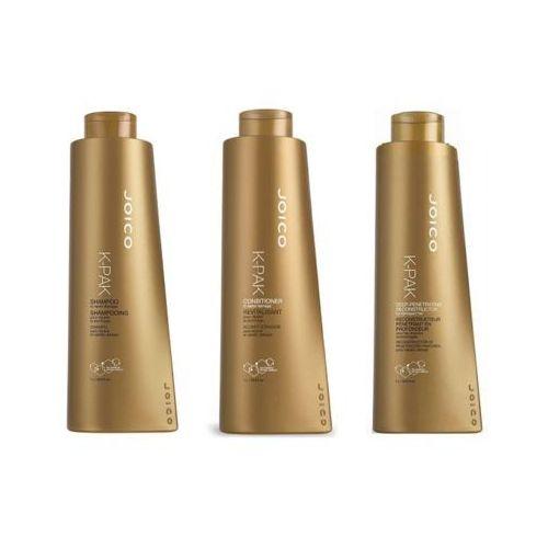 k-pak - zestaw regenerujący: szampon + odżywka + rekonstruktor 3x1000ml marki Joico