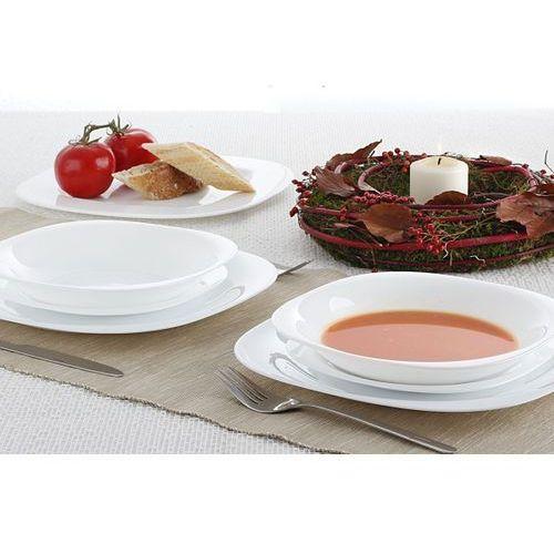 Serwis obiadowy CARINE WHITE na 6 osób (18 el.) - sprawdź w Garneczki.pl - Wyposażenie Kuchni!