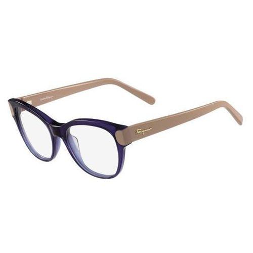 Salvatore ferragamo Okulary korekcyjne sf 2756 405