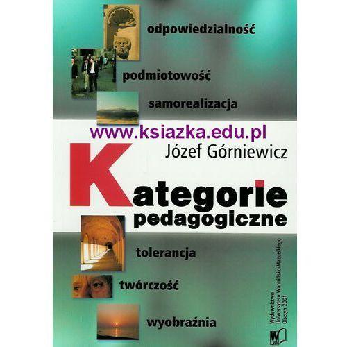 Kategorie pedagogiczne. Odpowiedzialność, podmiotowość, samorealizacja, tolerancja, twórczość, wyobraźnia