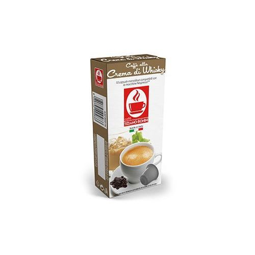 Caffe bonini Kapsułki do nespresso* whisky 10 kapsułek - do 20% rabatu z zapisem na newsletter i przy większych zakupach oraz darmowa dostawa