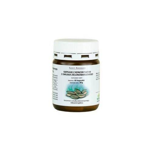 Omułek zielonowargowy - koncentrat 500 mg (60 kaps.) Krauterhaus Sanct Bernhard (5903240731190)