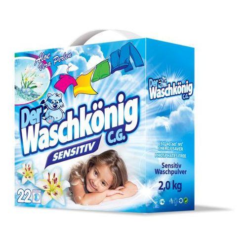Waschkonig 2x Sensitive 2 kg - 22 prań (proszek do prania ubrań)