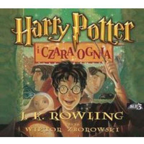 Harry Potter i Czara Ognia CD mp3 (audiobook), oprawa kartonowa