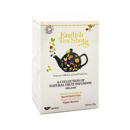 English tea shop Ets collection of natural fruit 20 saszetek