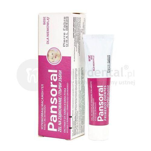 Elgydium pansoral żel na ząbkowanie łagodzący dla niemowląt 15ml marki Pierre fabre