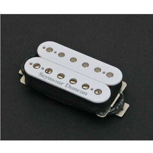 Seymour duncan sh-4 wh jb model przetwornik do gitary elektrycznej do montażu przy mostku, kolor biały