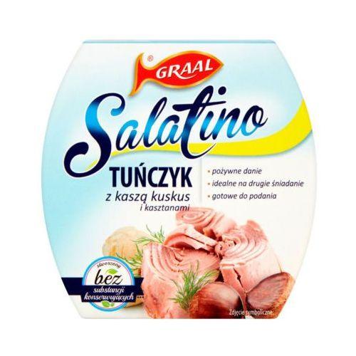 160g salatino tuńczyk z kaszą kuskus i kasztanami marki Graal