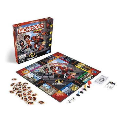 Gra monopoly junior incredibles marki Hasbro