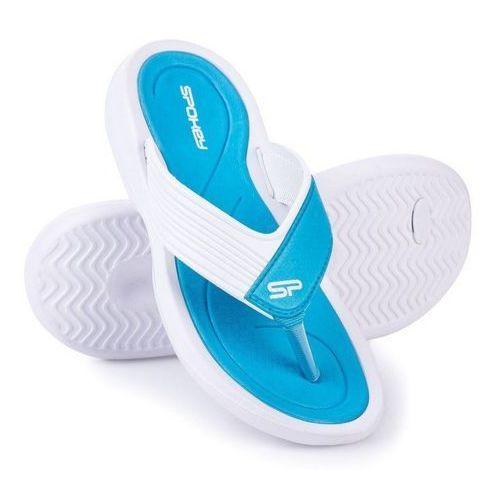 Klapki basenowe SPOKEY Chillout Niebiesko-Biały (rozmiar 41)