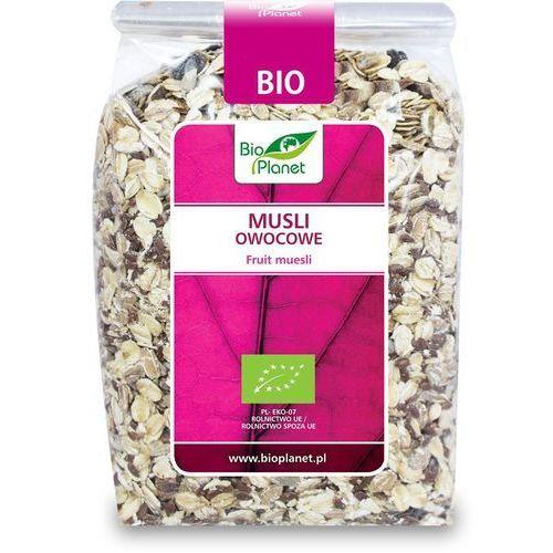 Bio planet : musli owocowe bio - 300 g (5907814668820)