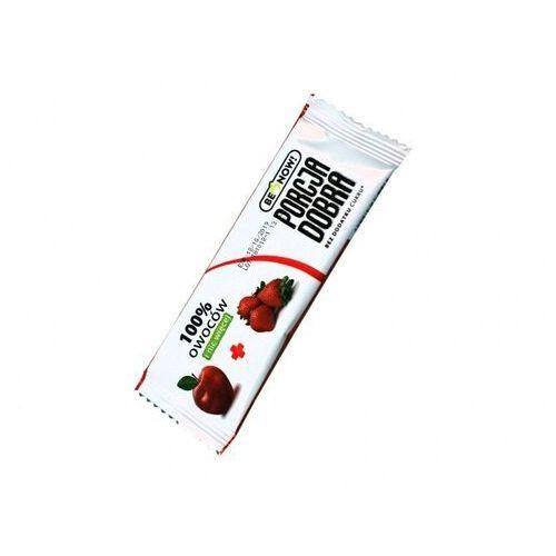 Baton jabłkowo-truskawkowy