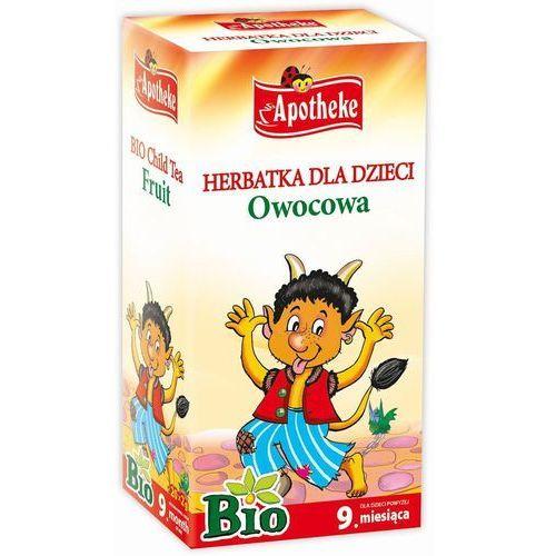 Herbatka dla dzieci - owocowa bio 20 x 2 g marki Apotheke