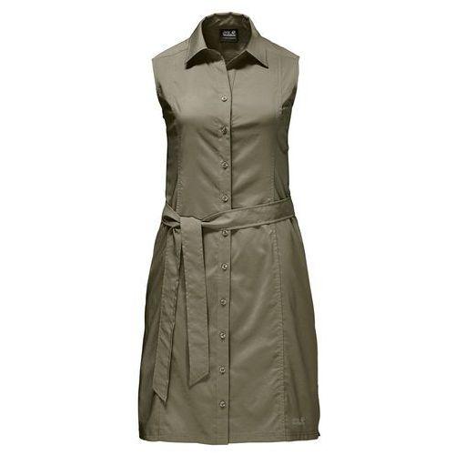 Jack wolfskin Sukienka sonora dress - burnt olive