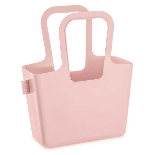 Koziol Wielofunkcyjna torba na zakupy, plażę taschelino - kolor pudrowy różowy,