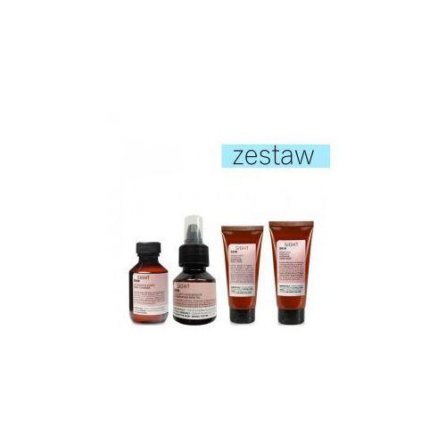 zestaw mini żel pod prysznic+olejek+krem do ciała+krem do rąk marki Insight skin