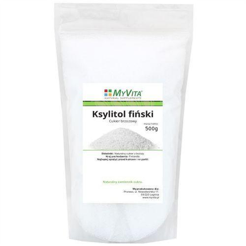 MYVITA Ksylitol Fiński (cukier brzozowy) 500g