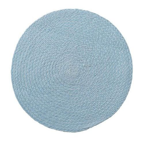 Podkładka pod talerz z juty Bloomingville 38 cm niebieska