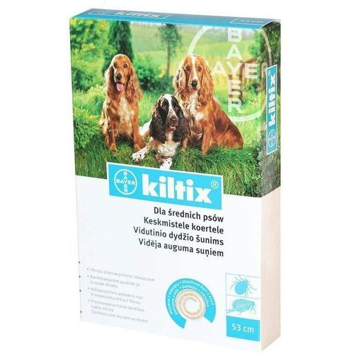 kiltix obroża przeciw pasożytom 53cm marki Bayer