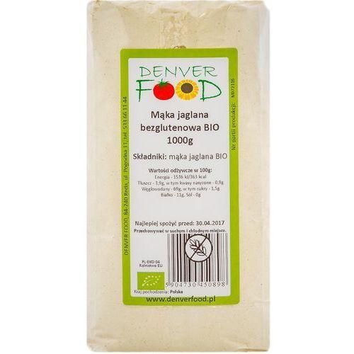 Denver food Mąka jaglana bezglutenowa bio 1 kg
