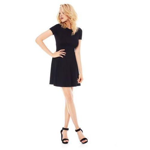 Sukienka Nadia w kolorze czarnym, kolor czarny