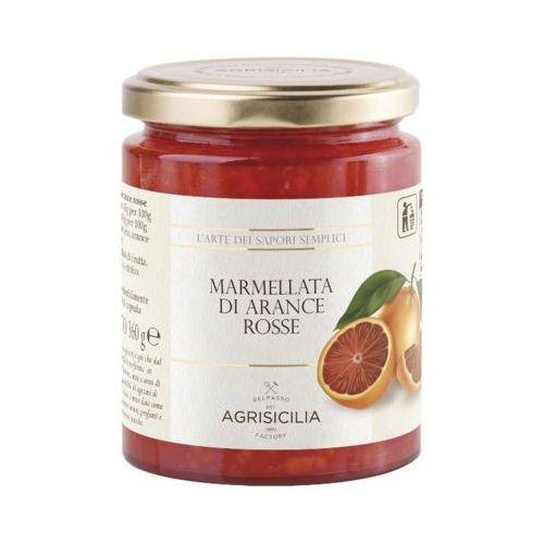 AGRISICILIA 360g Czerwona pomarańcza sycylijska Dżem