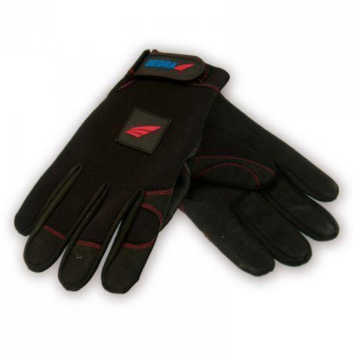Dedra Rękawice robocze hand pro-tekt bh1002xl czarny (rozmiar xl) (5902628211033)
