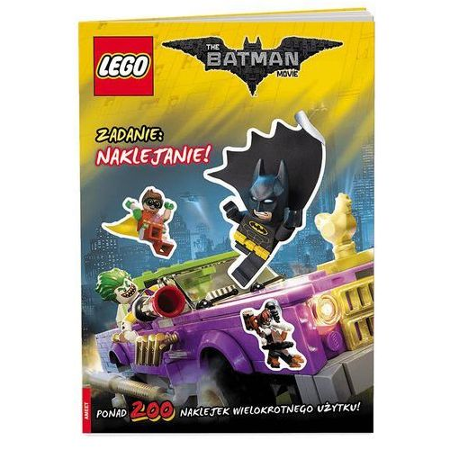 THE LEGO® BATMAN MOVIE. ZADANIE: NAKLEJANIE!