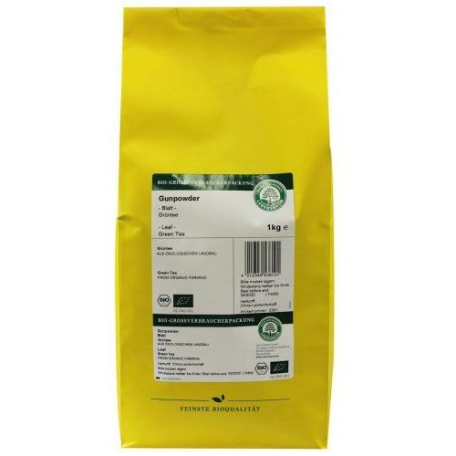 Herbata Zielona Gunpowder Liściasta BIO 1 kg Lebensbaum, 4012346536101