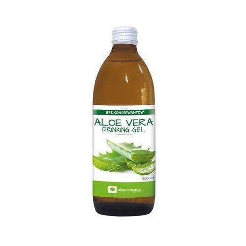 Aloe Vera Drinking Gel - AlterMedica 500 ml Kurier: 13.75, odbiór osobisty: GRATIS! (5907530440083)