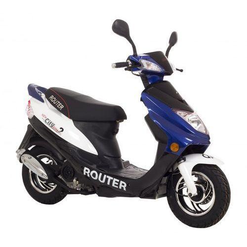 ROUTER CITY LINE 2 MOTORS YG BIAŁO-NIEB. + DARMOWA DOSTAWA + skorzystaj z RABATU i 3-letniej gwarancji w Pakiecie Korzyści!
