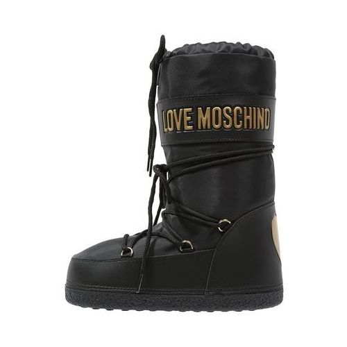 Love Moschino Śniegowce black - oferta [05bc447277f53672]