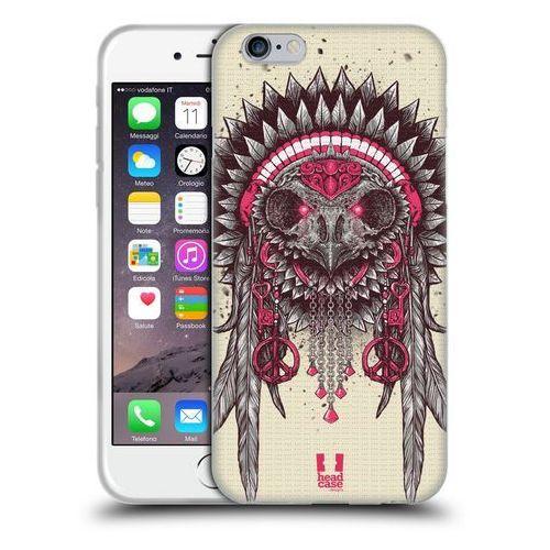 Etui silikonowe na telefon - ethnic owls pink and grey marki Head case