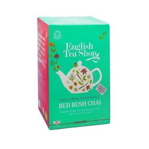 Ets red bush chai 20 saszetek marki English tea shop