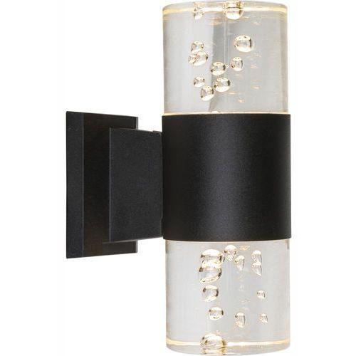 Kinkiet lampa oprawa ścienna zewnętrzna Globo Monika 1x8W LED czarny 32406W