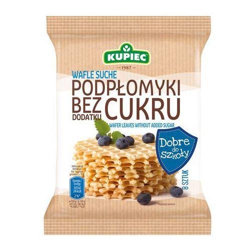 Wafle suche podpłomyki bez dodatku cukru 72 g (8 sztuk) marki Kupiec