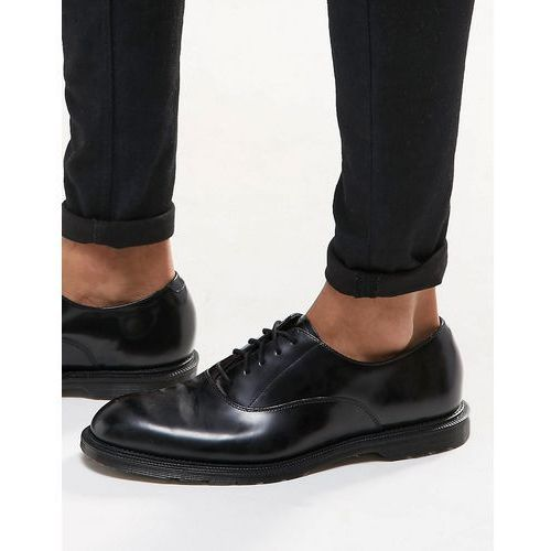 Dr martens henley oxford shoes in black - black